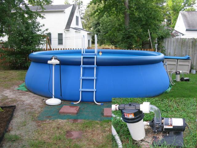 Intex pool parts assemble your favorite portable pool for Intex gartenpool